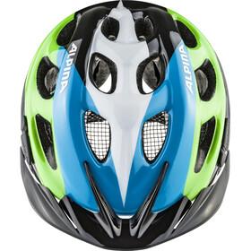 Alpina Rocky Helmet Kids black-blue-green